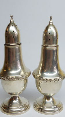 Sterling silver 925 pepper- and salt set