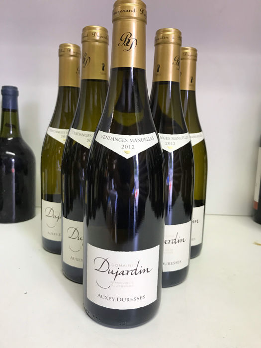 2012 Auxey-Duresses white Domaine Dujardin , Cote de Beaune,Burgundy, France, 6 bottles 0,75l