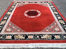 Magnificent, distinguished Oriental palace carpet CHINA PEKING - approx. 323 x 246 cm - with certificate of authenticity