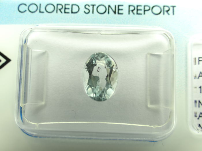 Aquamarine - 1,21 ct