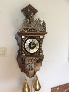 Zaandam clock with inner pendulum – Around1970