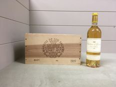 1999 Chateau d'Yquem Sauternes – 6 bottles (75cl) in OWC