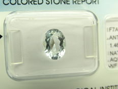 Aquamarine - 1,46 ct