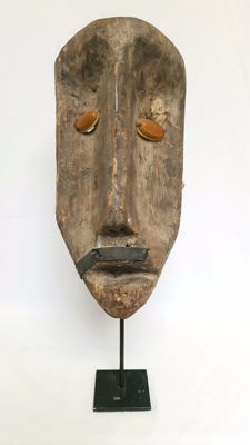 African mask-presumably Nigeria