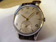 """Omega """"Jumbo"""" men's watch from the 1950s – Large size, 38 mm – Ref. 2505-30"""