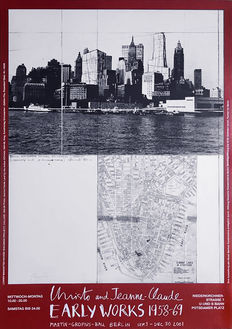 Christo - Early Works New York  (signed) - 2001