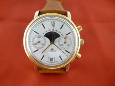 Lorenz moon phase chronograph — 1970s