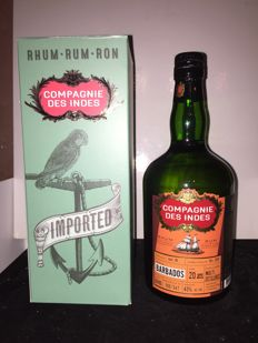 Barbados Rum - Multi Distilleries - Compagnie des Indes - 20 Years Old - 70cl & 45%