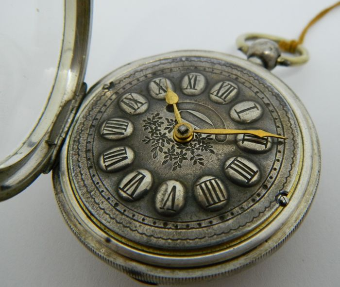 Paragon key winding pocket watch