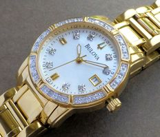 Bulova Highbridge Diamond - Ladies' Bracelet Wristwatch