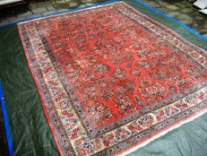 Hand-knotted Persian carpet, Sarough from Iran – 286 x 212 – late 20th century