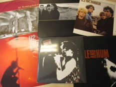 "Nice Lot with 6 great albums of U2 including rare Fanclub Item 10"" and 1 double"