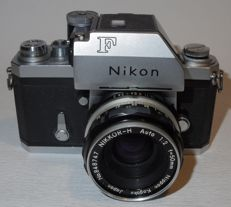 Rare Nikon F with NASA inscription - 1966