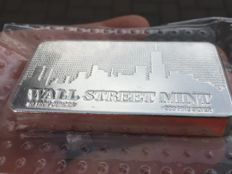 USA – 10 Troy Ounces silver bar 'Wall Street Mint 2017' – 10 oz silver