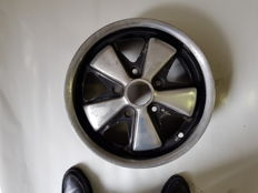 "Early Porsche 911 Rim with a rare size of 5.5 ""x 15"""