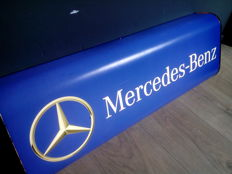 Mercedes Benz - Lightbox - Dealersign - Late 20th century, Germany