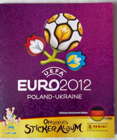 Panini - Album Euro 2012 - Complete - German Version.