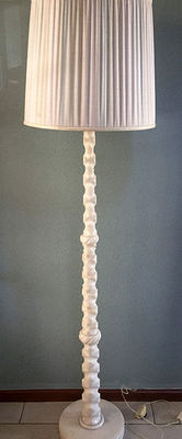 Vintage Italian Alabaster floor lamp, years 60/70