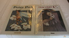 2 Enamel Signs - Peter Pan - Giacomo - 2000/2001