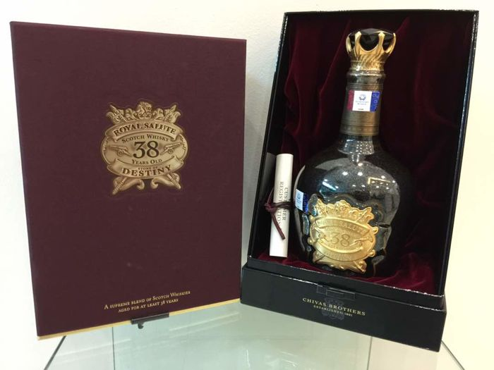 chivas royal salute stone of destiny 38 years old catawiki