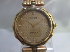 Rado 'Florence' – gold plated unisex Swiss wristwatch – c.1970/80s'