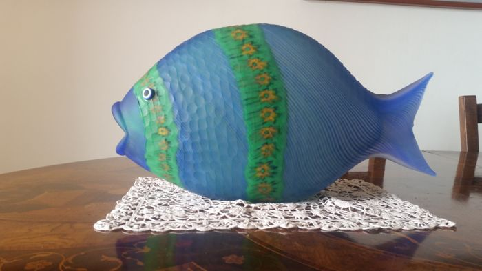 Adriano Dalla Valentina - cut glass Alohor Fish (46 cm)