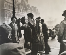 Robert Doisneau (1912-1994)/Taschen - 'Le Baiser de l'Hôtel de Ville, Paris 4e' - 1950 & 'Music-Loving Butchers, Paris 19e' - 1953