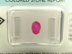 Ruby  – 0,87 ct