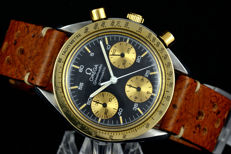 Omega Speedmaster Reduced Automatic gold bezel