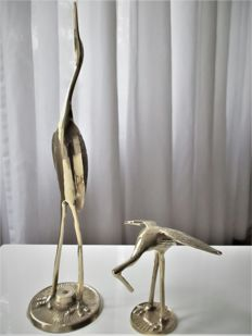 Two bronze sculptures - Leonard Mfg. Co/ Regency Hollywood - 1960s