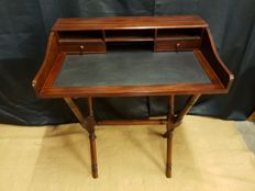 Collapsible mahogany writing table, England, 20th century