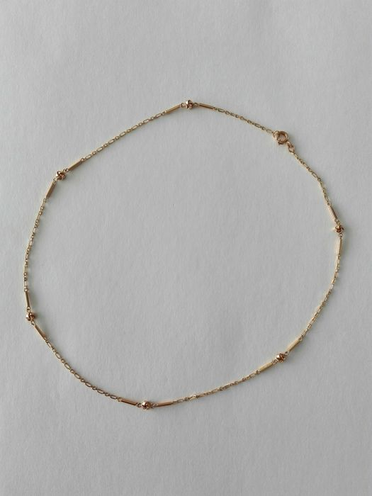 19.25 kt (800/1,000) gold necklace - 7.6 g
