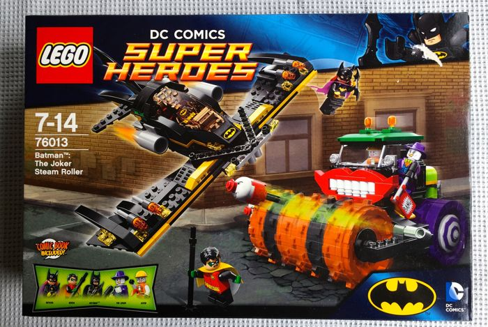 Lego - DC Comics Super Heroes - 76013 - Batman, The Joker Steam Roller - (2014)