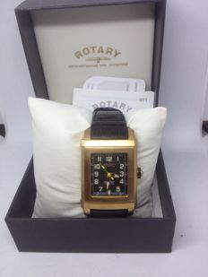 Rotary –EDITIONS SERIES 400 Men's Wrist Watch Gent Gold Plated-Slim-