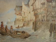 Paul Marny - Shipping Off The French Coast c 1860
