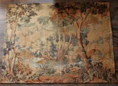 Jp Tapestry in the taste of Aubusson - 200 x 150 cm - early XXth.