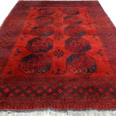 "Afghan – 300 x 216 cm – ""Impressive, authentic Persian carpet – 100% Wool – Clean and in beautiful condition"" – With certificate"