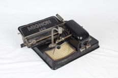 Very rare AEG Mignon typewriter Model 4, 1928