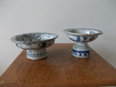Two offering bowl for the Thai market - China - 19th century