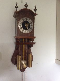 Twente/Salland clock - Period 1970 - Made in Holland, Wuba