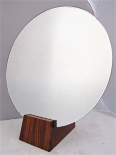 Jacques-Emile Rulhmann (1879-1933) - circular table mirror