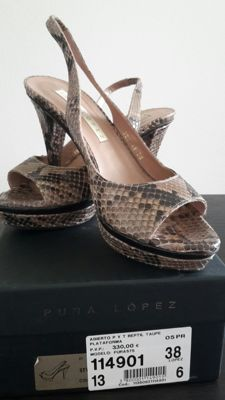 Pura Lopez Slingback shoes