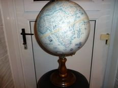 World Replogle Globe of the 17th century world