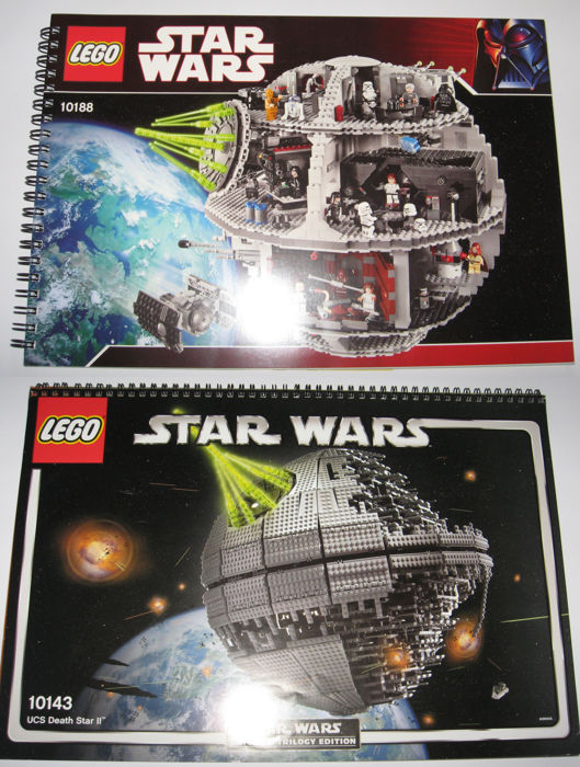 Star Wars 10143 Original Building Instructions For Ucs Death Star