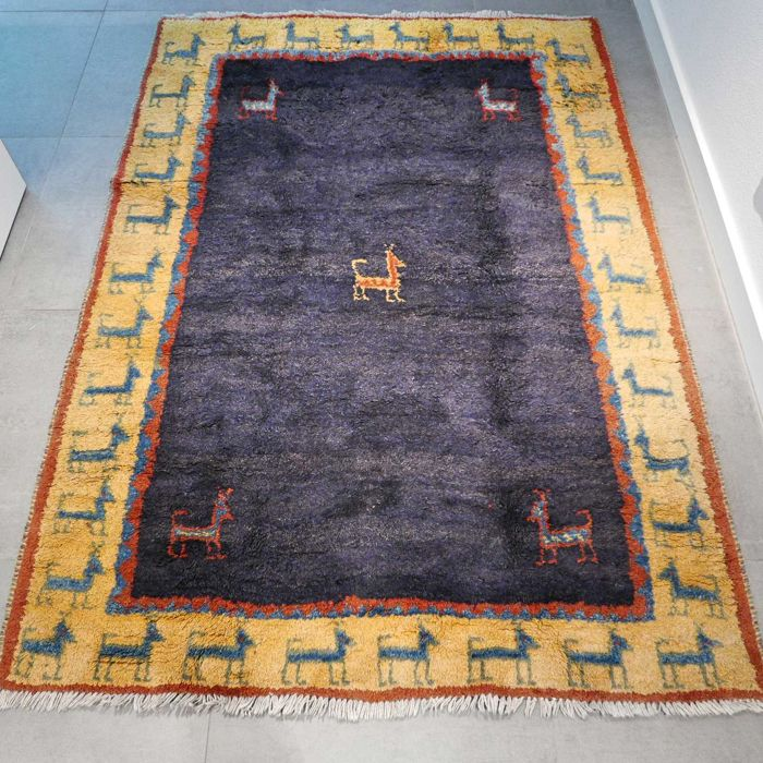 Special Iranian nomad Gabbeh – 200 x 140 – super appearance and super quality