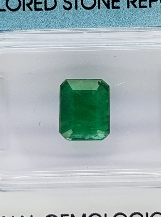 Colombian Emerald –  1.66 ct  – No reserve