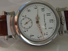 17. IWC Schaffhausen marriage men's wristwatch 1891-1892