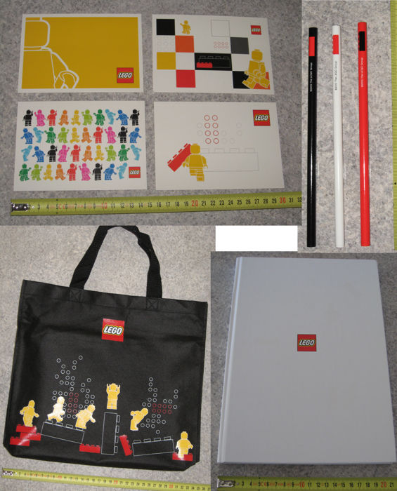 Gear - Tote Bag, Launch of our New Corporate Look + notebook + pencils + postcards