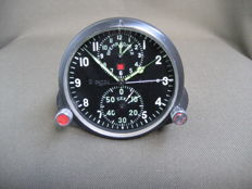 Pilot's clock for the MiG-25 supersonic fighter jet (СССР/USSR). The second half of the 20th century. 1970s.