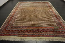 Magnificent hand-knotted Persian carpet Sarouk Mir – 250 x 310 cm – made in Iran – best highland wool